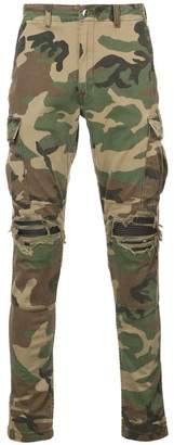 Amiri MX1 Cargo camouflage-print trousers