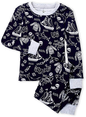 Pl Sleep (Toddler Boys) Two-Piece Shark Pajama Set