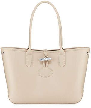 Longchamp Roseau Small Leather Shoulder Tote Bag