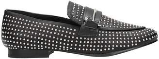 Steve Madden Kast Black Leather Loafers