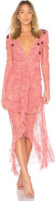 For Love & Lemons Daisy Lace Midi Dress