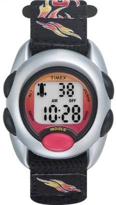 Timex Boys Time Machines Flames Digital Watch, Fast Wrap Strap