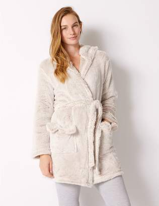 Marks and Spencer Fleece Bear Hooded Dressing Gown