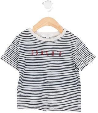 Burberry Boys' Striped Crew Neck Shirt $45 thestylecure.com