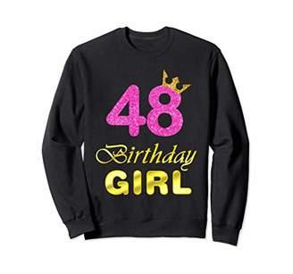 48 Years Old Birthday Girl Shirt 48th Birthday Pink