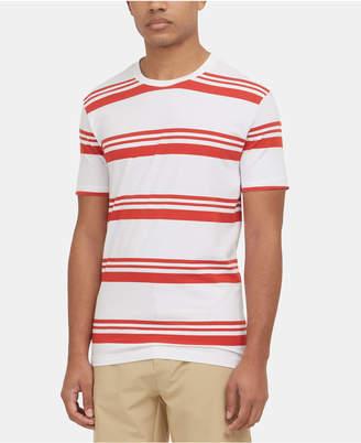 Kenneth Cole New York Men Stripe T-Shirt
