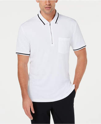 INC International Concepts I.n.c. Men's Quarter-Zip Polo