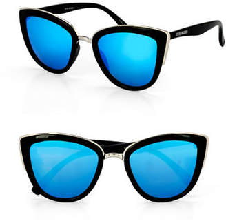 Steve Madden 53mm Cat-Eye Sunglasses