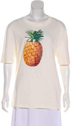 Chloé Pineapple Print T-Shirt