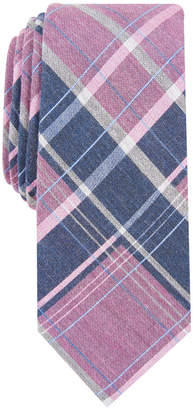 Bar III Men Hemlock Plaid Skinny Tie