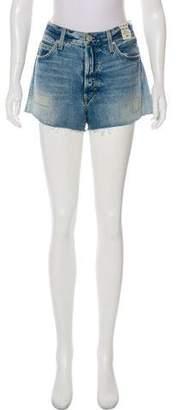 Amo Denim High-Rise Shorts w/ Tags