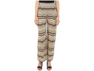 M Missoni Lurex Star Stripe Pants Women's Casual Pants