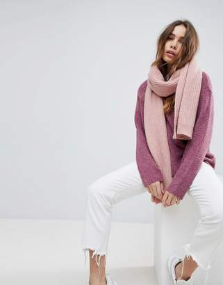 Weekday Wool Mix Oversize Chunky Scarf