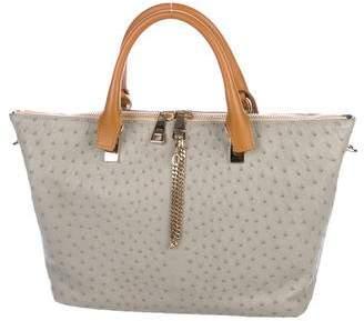 Chloé Ostrich Small Baylee Bag