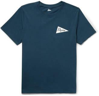 Pilgrim Surf + Supply Logo-Print Cotton-Jersey T-Shirt