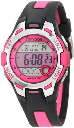 Armitron Sport Women's 45/7030PNK and Black Digital Watch
