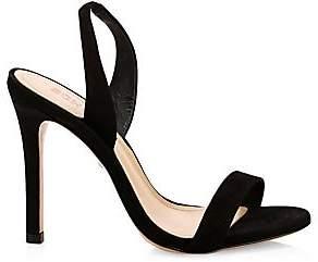 Schutz Women's Luriane Suede Slingback Sandals