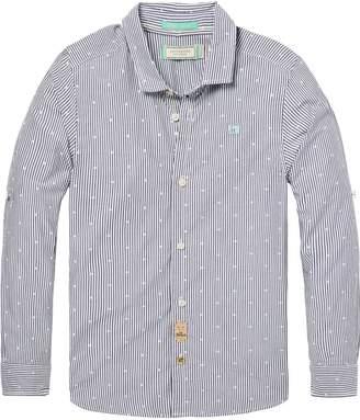 Scotch & Soda Yarn-Dyed Shirt Slim fit