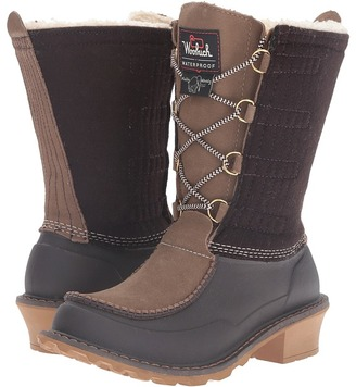 Woolrich - Fully Wooly Lace Women's Boots $160 thestylecure.com