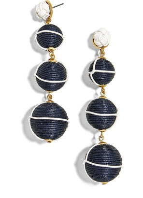 Arbor Ball Drop Earrings $52 thestylecure.com