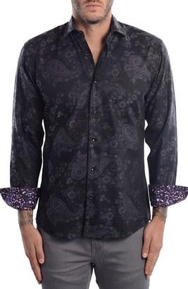 Men's Bertigo Paisley Modern Fit Sport Shirt $149 thestylecure.com