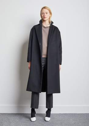 La Garçonne Moderne Writer Overcoat No. 2 Black