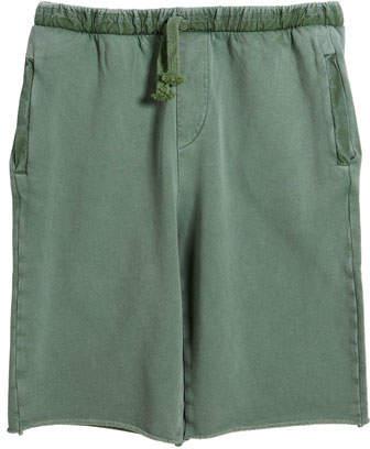 Cullen Cutoff Knit Shorts, Size 4-10