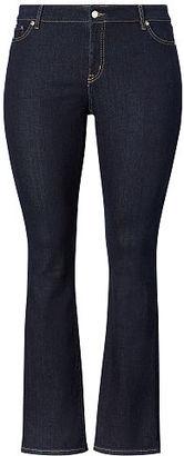 Ralph Lauren Woman Slim Bootcut Jean $99.50 thestylecure.com
