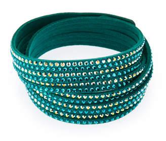 Swarovski Emerald 2-in-1 Slake Bracelet