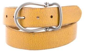 Frye Distressed Leather Belt