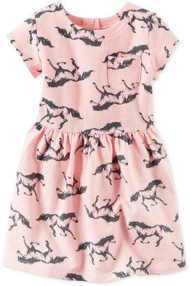 Carter's Horse-Print Dress, Toddler Girls (2T-5T) $26 thestylecure.com