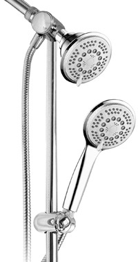 Hotel Spa® Multi-Shower Slidebar Showerhead