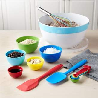 Tasty Melamine Bowl & Baking Set, 15 Piece