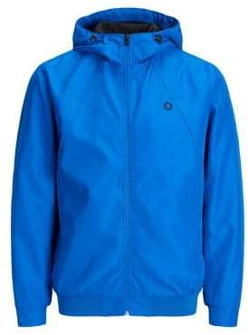 Jack and Jones Core Water-Resistant Hooded Jacket