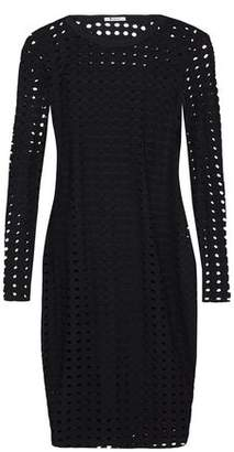 Alexander Wang Laser-Cut Stretch-Jersey Mini Dress