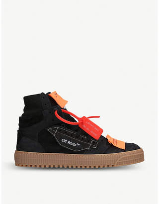 Off-White Off-court suede high top trainers