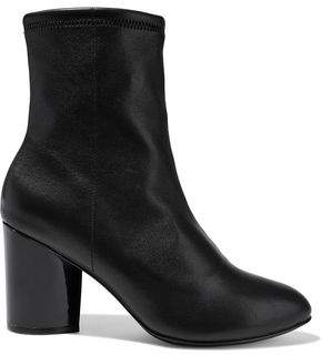 Opening Ceremony Neon Stretch-Leather Ankle Boots