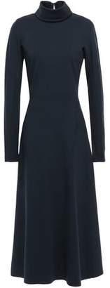 Victoria Beckham Cutout Jersey Midi Dress