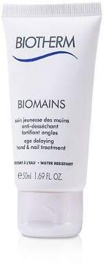 Biotherm NEW Biomains Age Delaying Hand & Nail Treatment - Water Resistant 50ml