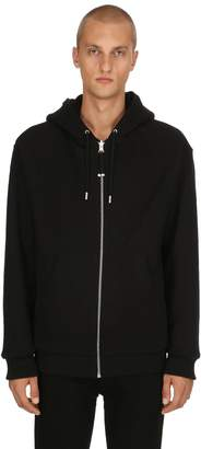Diesel Black Gold Reversible Plush & Cotton Sweatshirt