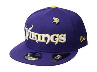New Era Minnesota Vikings Pinned Snap