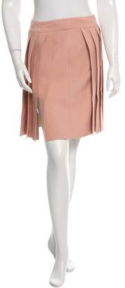 Blumarine Pleat-Accented Mini Skirt