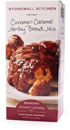 Stonewall Kitchen Cinnamon Caramel Monkey Bread Mix