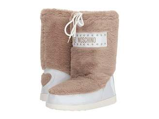 Love Moschino All over Faux Fur Boot