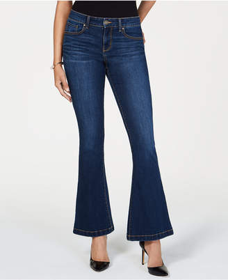 INC International Concepts I.n.c. Petite Flare-Leg Jeans