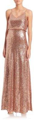 Jenny Yoo Jules Sequin Tulle Gown $285 thestylecure.com