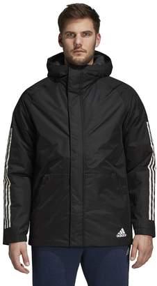 adidas Outdoor Men's Outdoor Xploric 3-Stripe Slim-Fit Hooded Jacket