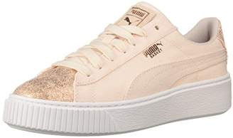 Puma Women's Basket Platform Canvas Wn Sneaker