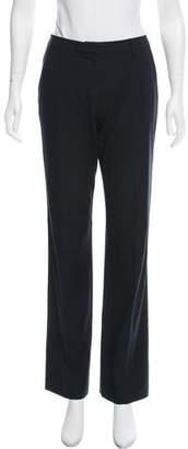 Prada Mid-Rise Wide-Leg Pants