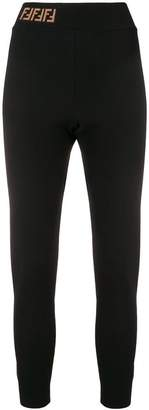 Fendi skinny athletic jogging trousers